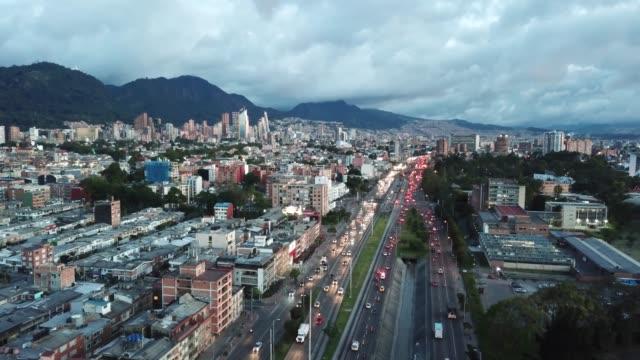 Luftaufnahme-von-Bogota-Kolumbien-