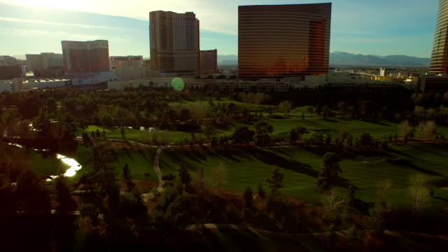 Las-Vegas-Aerial-Stadtansicht-Golf-Course
