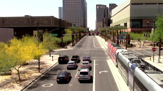 El-centro-de-la-ciudad-de-Phoenix-Arizona-Street