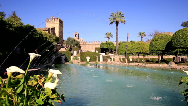 Alcazar-de-los-Reyes-Cristianos-in-Cordoba-Andalusia-Spain