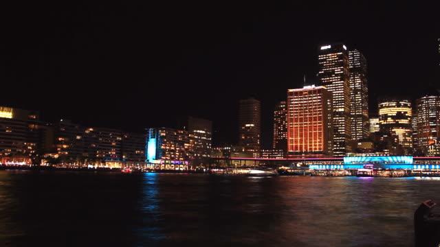Sydney-City-Building-Skyline-Night-Timelapse-Vivid-Festival