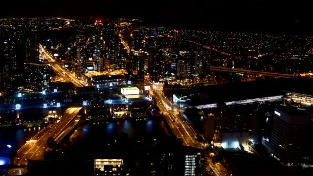 Night-scene-at-Melbourne-CBD