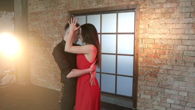 Professional-couple-dancing-tango-in-the-studio-