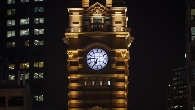 Flinder-Street-Station-Clock-Tower-Time-Lapse