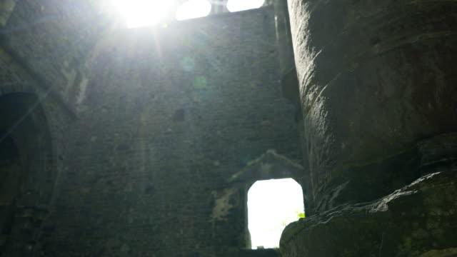 Ruined-abbey-in-sunlight