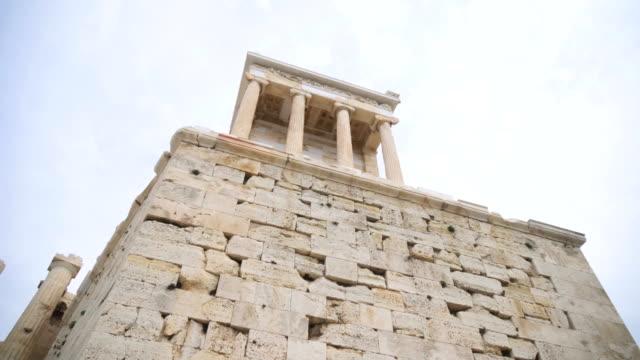El-templo-de-Niki-Apteros-en-la-Acrópolis-de-Atenas-