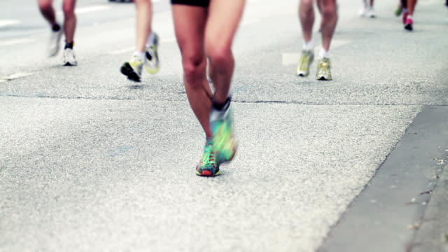 Marathonläufer-maratón