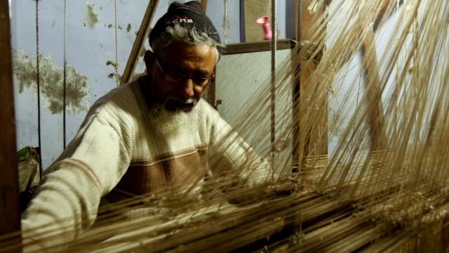Weaver-at-work