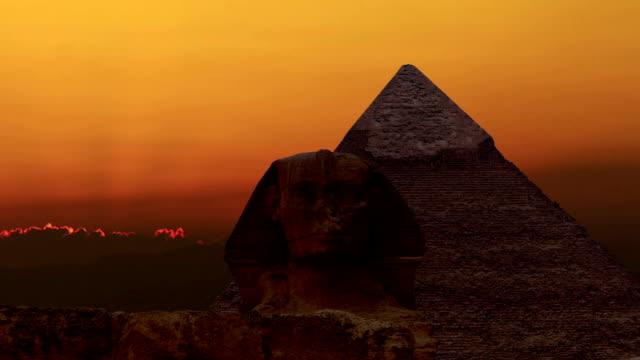 TIMELAPSE-Sonnenaufgang-über-der-Cheops-Pyramide-und-Sphinx-Gizeh-Ägypten-v-4
