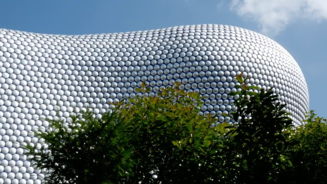Detail-of-modernist-department-store-exterior-in-Birmingham-England-