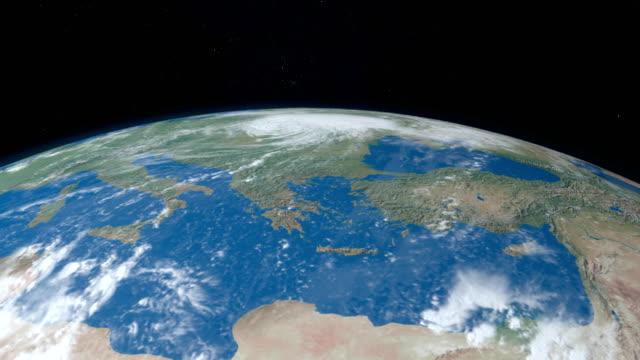 Mittelmeer-zwischen-Afrika-und-Europa-Planetenerde
