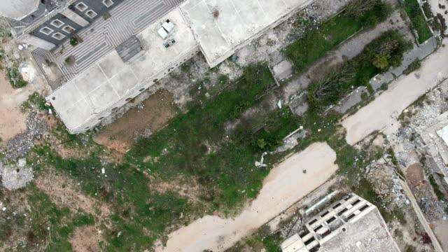 Vista-aérea-de-ruinas-homs-en-Siria