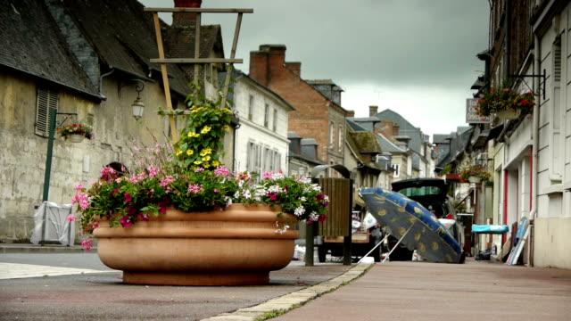 Flea-market-in-a-little-village-in-Normandy-France