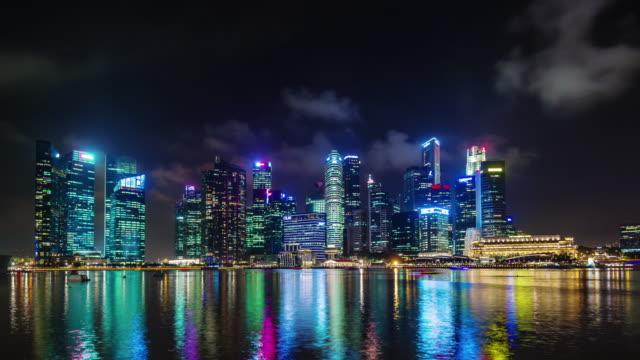 vista-panorámica-luz-de-noche-en-Singapur-4k-lapso-de-tiempo