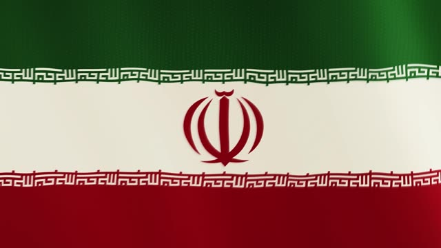 Iran-flag-waving-animation-Full-Screen-Symbol-of-the-country
