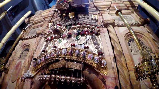 Fragmento-de-interior-en-la-iglesia-del-Santo-Sepulcro-Jerusalén