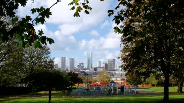 Birmingham-City-centre-aus-Highgate-park-Deritend-