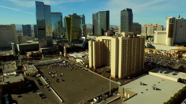 Aerial-Stadtansicht-von-Las-Vegas-Strip