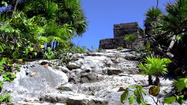Mayan-Ruins---Up-The-Stone-Path-to-the-Church