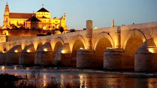 Cordoba-Spanien-Stadt-in-die-römische-Brücke-und-eine-Moschee-