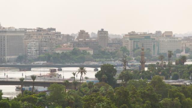 Cairo-bridges-traffic-timelapse