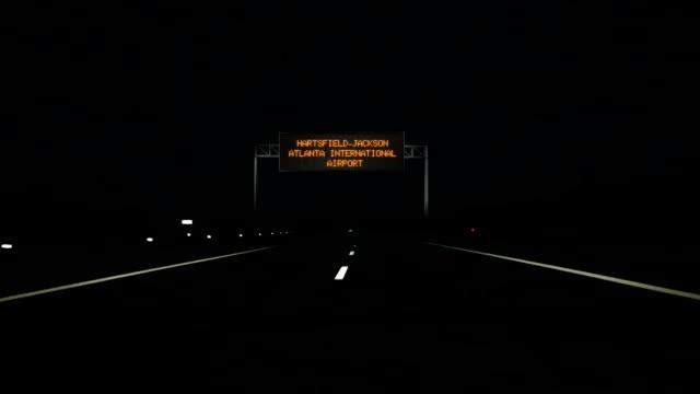 Hartsfield-Jackson-Atlanta-International-Airport-digital-road-sign-and-entrance-sign-