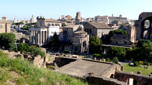 Vista-sobre-las-ruinas-del-Forum-romano