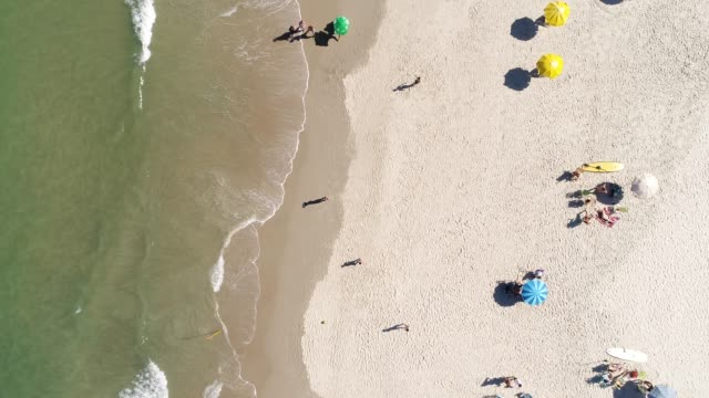 Top-View-of-a-Beach