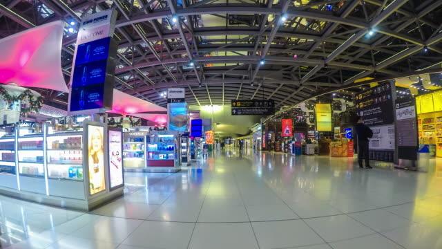 4K-Time-lapse-inside-departure-termina-Suvarnabhumi-Airport-bangkok-Thailand