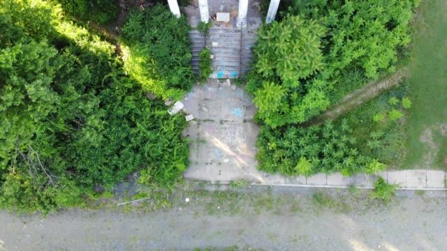 Abandoned-Hospital-Drone-Shots