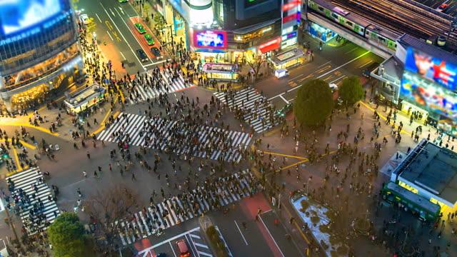 4K-Zeitraffer-Luftaufnahme-der-Shibuya-Kreuzung-in-Tokio-Japan