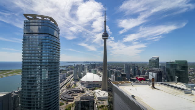 Modern-City-Skyline-Downtown-Toronto-Traffic