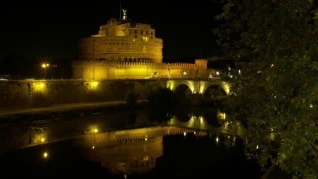 4K---Time-lapse-Castel-Sant-Angelo-(Rome)
