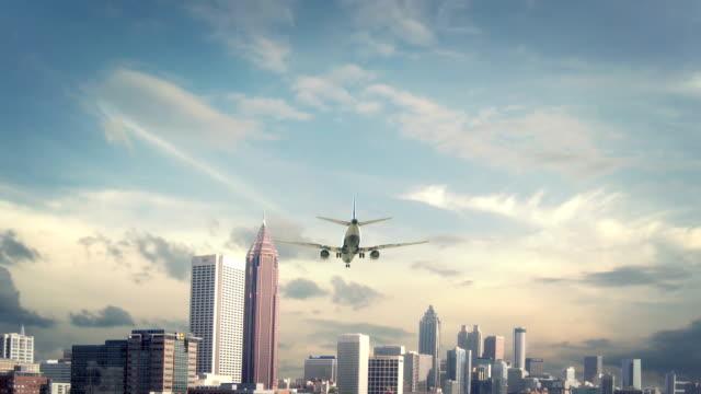 Airplane-Landing-Atlanta-USA