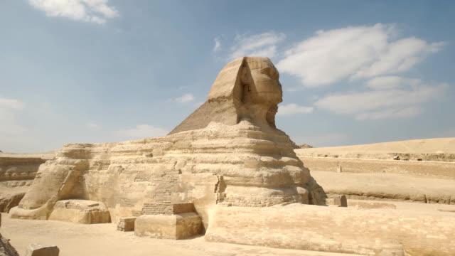 Breite-Schuss-der-Sphinx-in-der-Nähe-von-Kairo-Ägypten