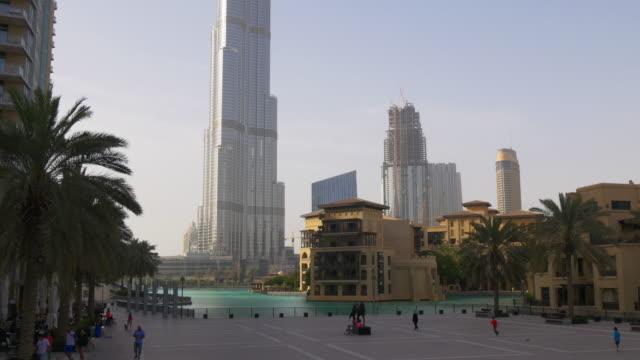 uae-sunset-light-dubai-mall-fountain-background-4k