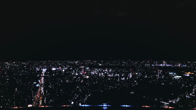 4K-aerial-Night-Time-lapse-of-Tokyo---Roppongi