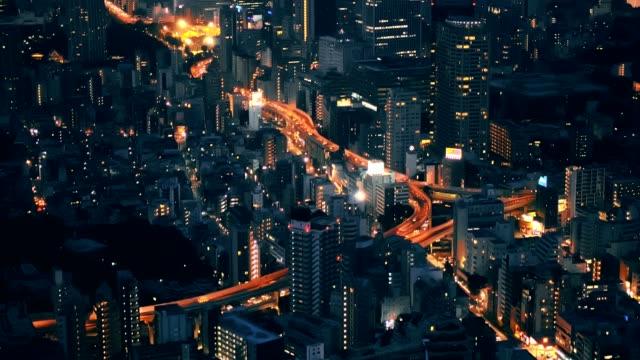 Tokio-Japón-paisaje-de-la-ciudad-y-de-las-principales-carreteras-