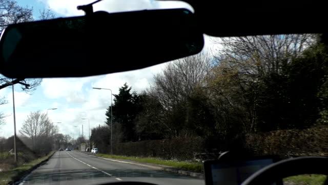 Man-driving-car-interior-view
