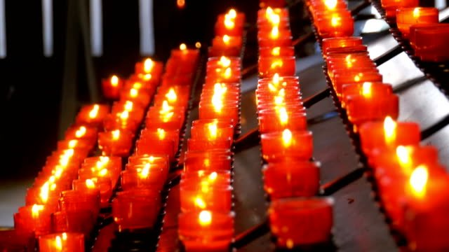 Many-Candles-Are-Lit-in-the-Christian-Church