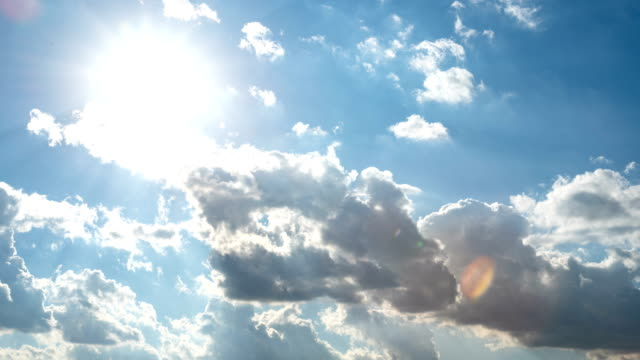 Clouds-are-moving-in-the-blue-sky-TimeLapse-
