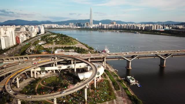 Vista-aérea-de-Seúl-Skyline-Corea-del-sur