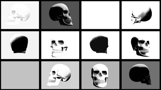 Abstract-Background-Halloween-Scary-Skull-Multi-Video-wall-24