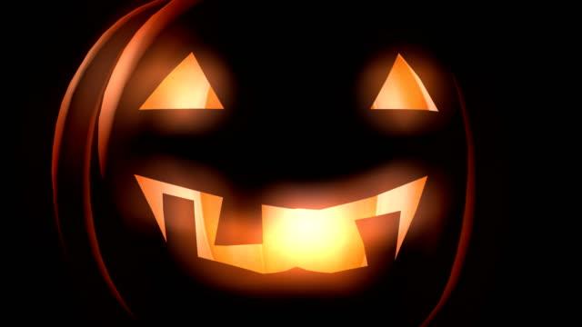 Que-brilla-intensamente-calabaza-de-Halloween-3D-Render