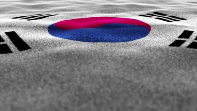 SOUTH-KOREA-Textile-Carpet-Background-Still-Camera-Loop