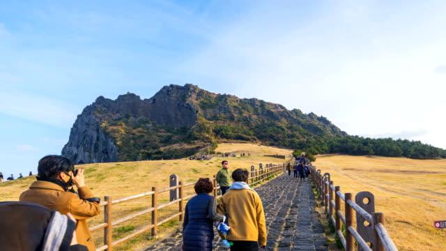 timelapse-of-Seongsan-Ilchulbong-Jeju-Island-South-Korea