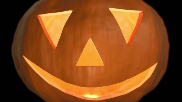 Kürbis-Halloween-gruselige-Trick-oder-festlichkeit-Gesicht-geschnitzt-Haloween-Punkin-4k