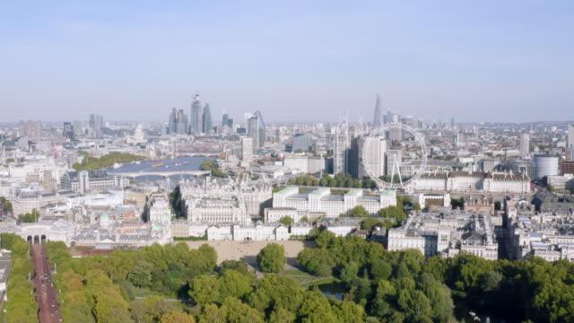 New-London-Skyline-Aerial-View