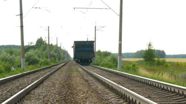 Train-cars-leave-far-away