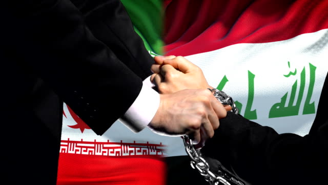 Iran-sanctions-Iraq-chained-arms-political-or-economic-conflict-trade-ban